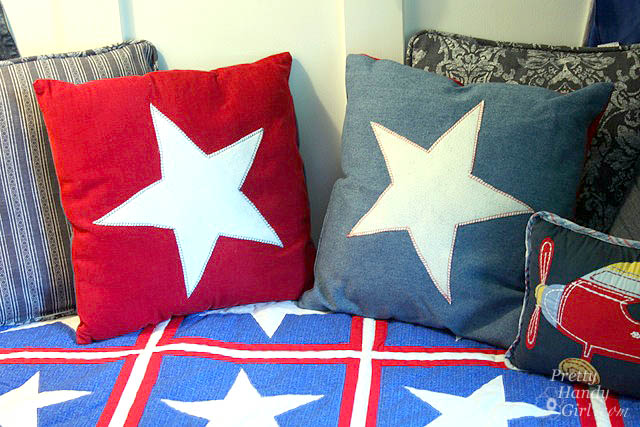 Patriotic Star Pillows