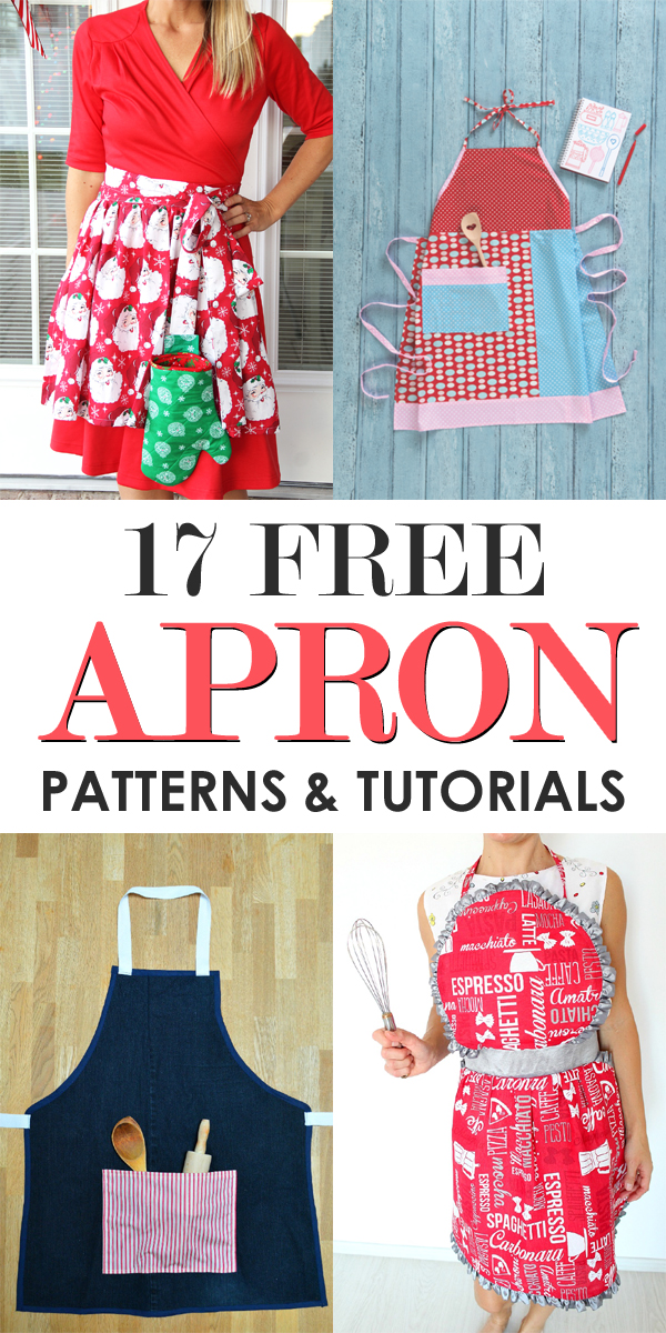 17 Free Apron Patterns and Tutorials