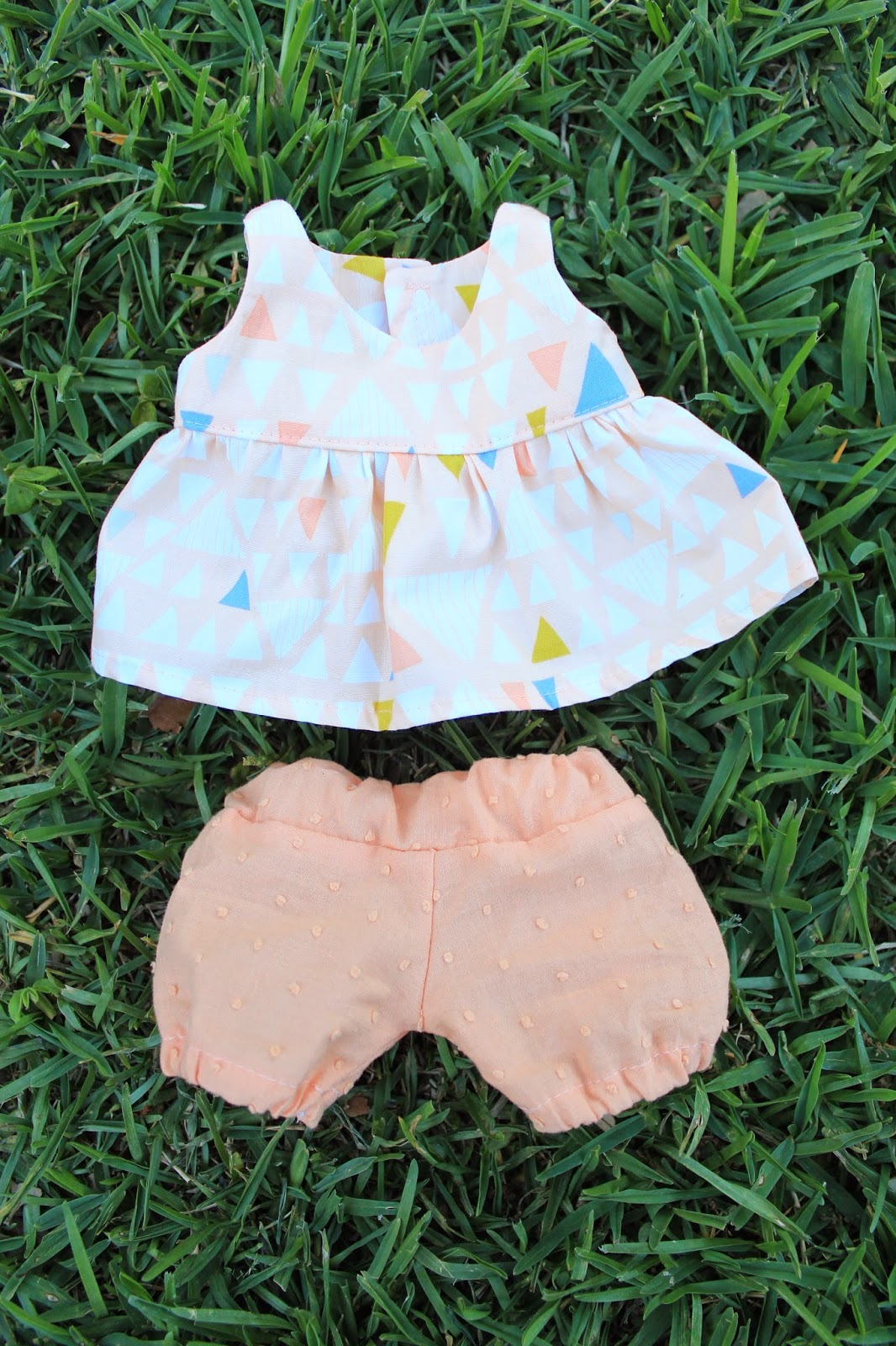 Baby Doll Dress and Bloomers