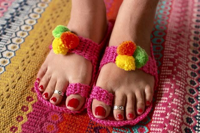 Desi Girl Kolahpuri Style Slippers
