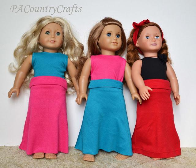 Easy Doll Maxi Skirt