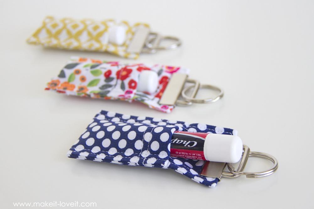 Fabric Chapstick Holder