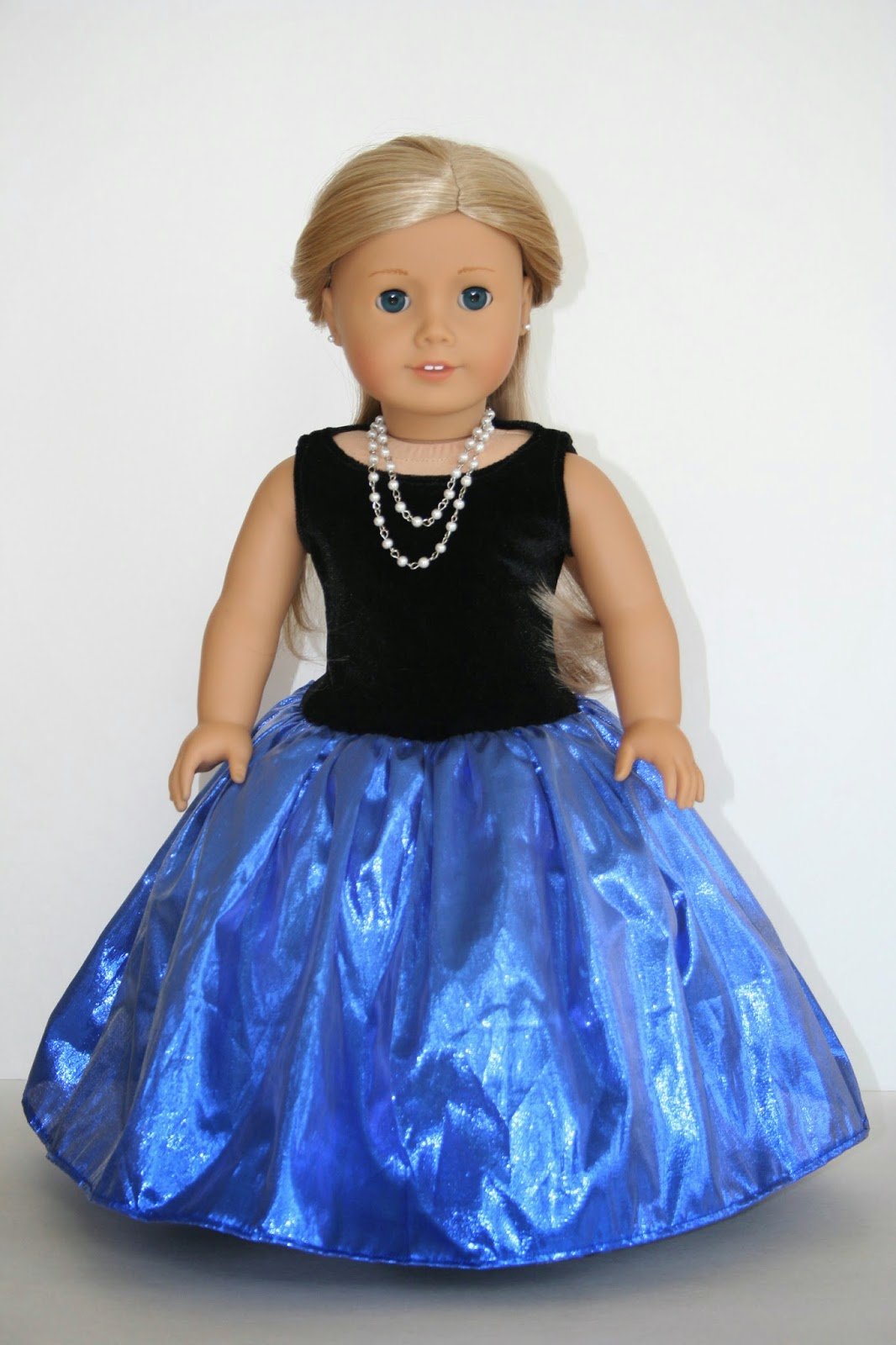 Glamorous Gown Doll Dress