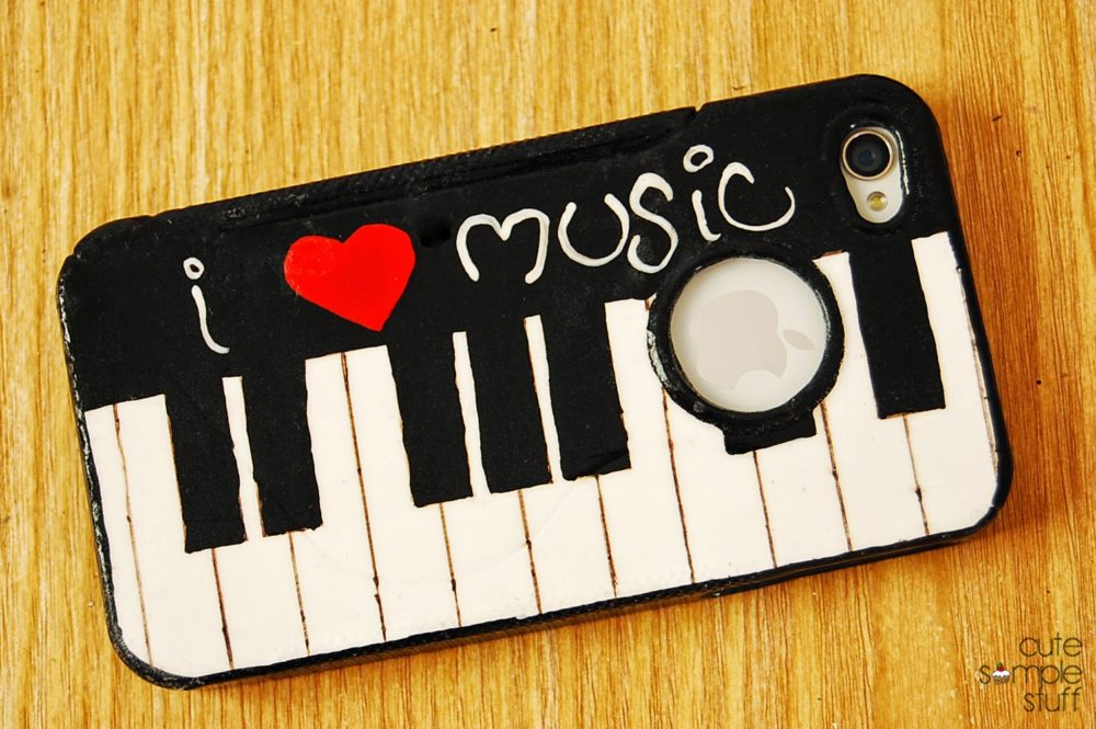 Piano Cell Phone Case