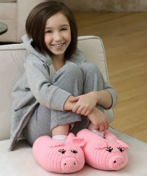 Pudgy Piggy Slippers