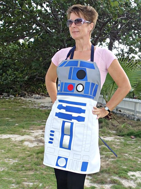 R2D2-Style Star Wars Inspired Apron