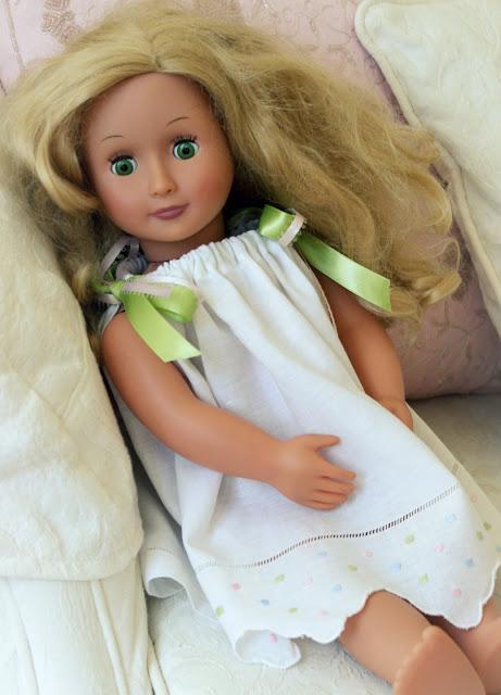 Tea Towel Pillowcase Doll Dress