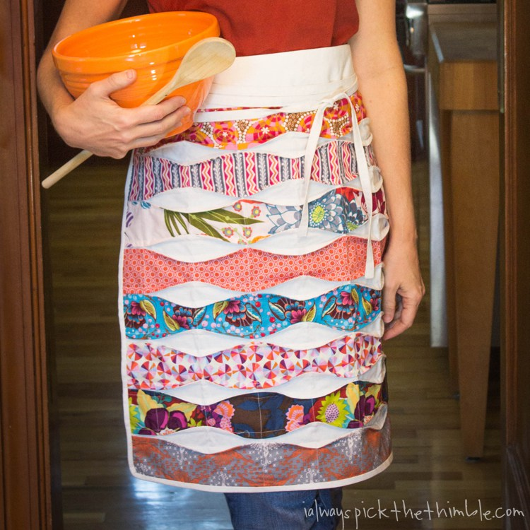 Wave-Inspired Apron