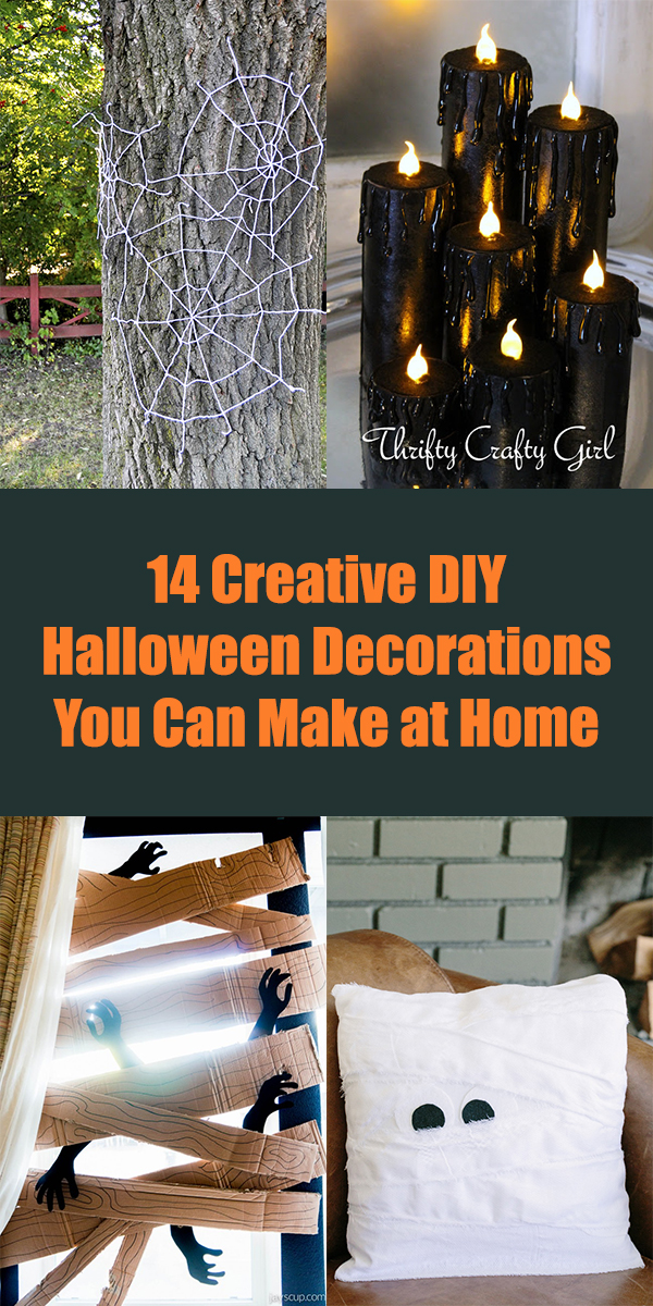 14 Creative DIY Halloween Decorations You Can Make at Home