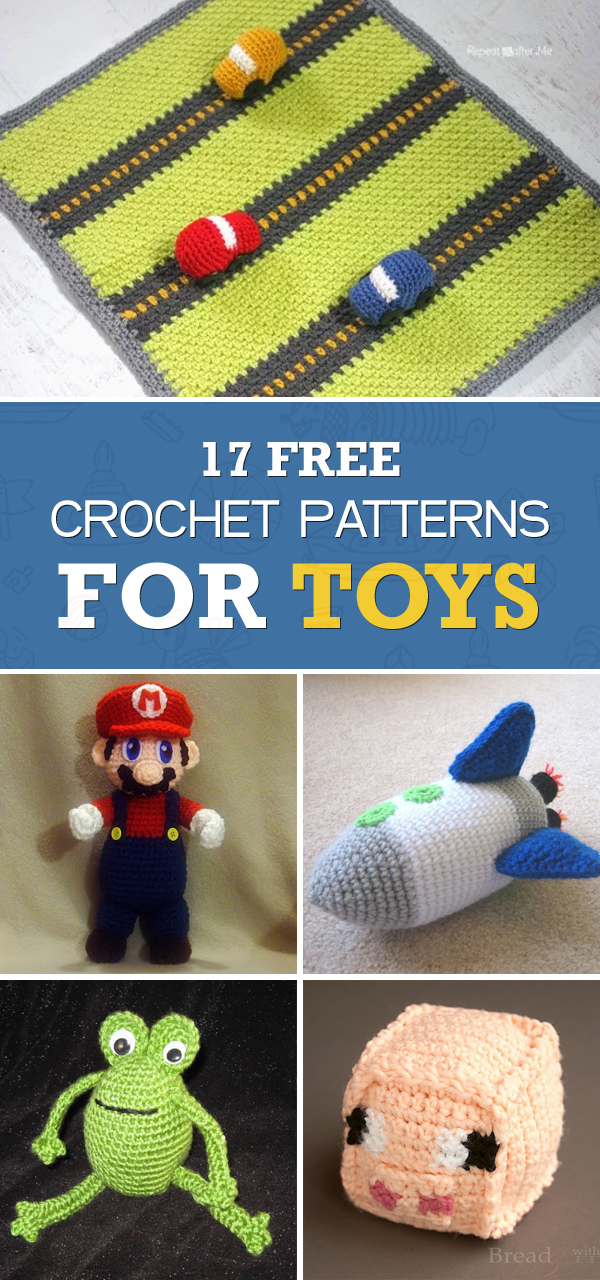 17 Free Crochet Patterns for Toys