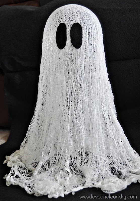 Floating Cheesecloth Ghost