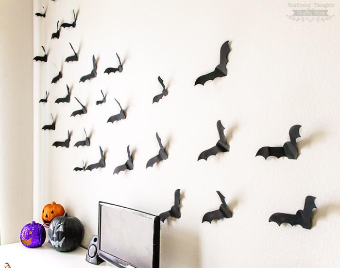 Flying Paper Bats