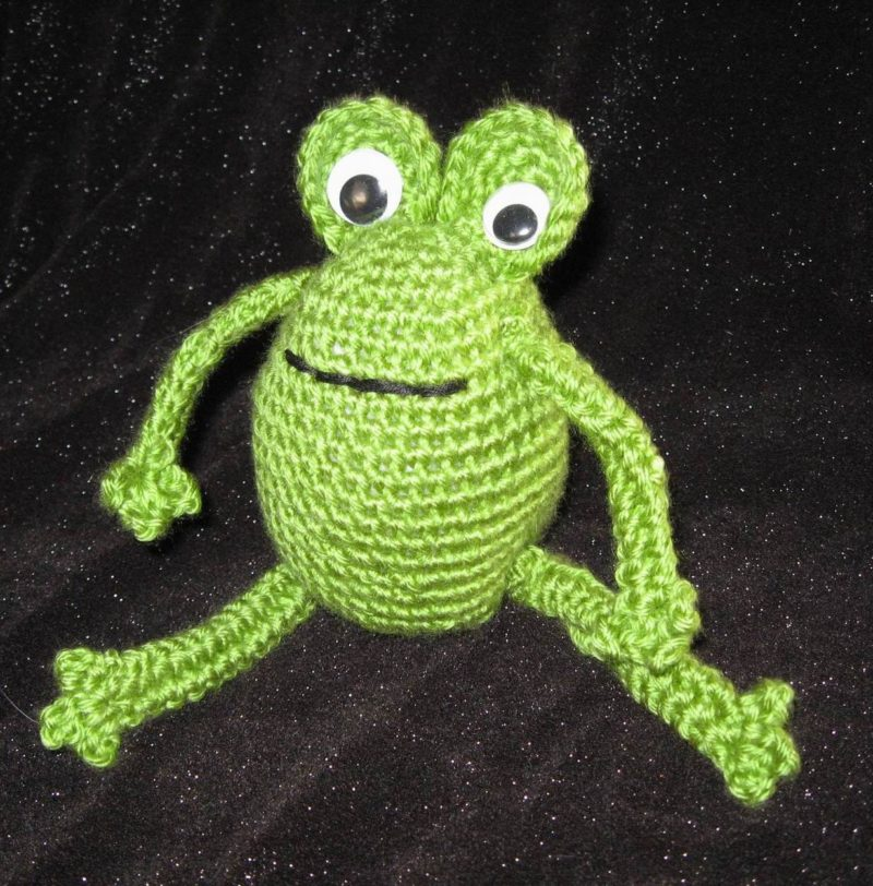 Frog Amigurumi