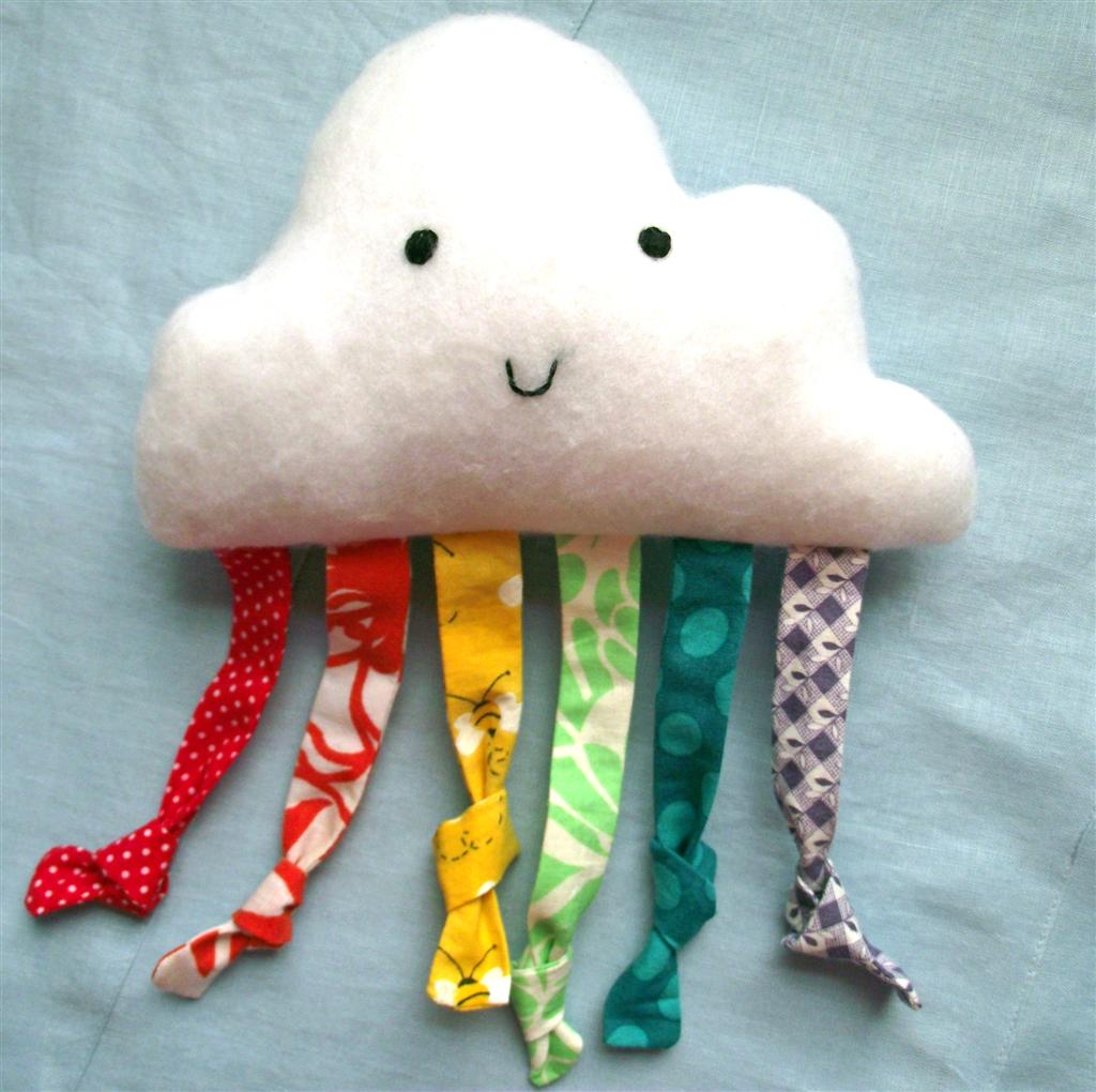 Happy Cloud Baby Toy