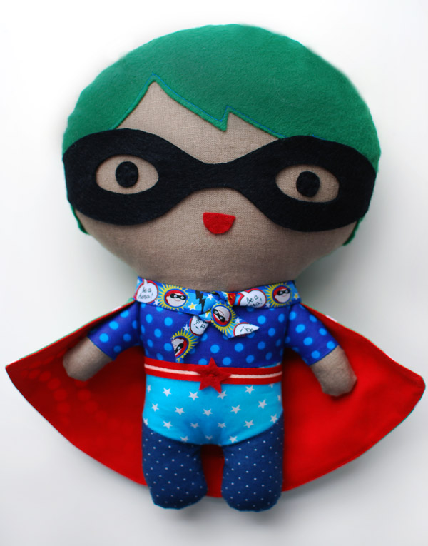 Superhero Soft Toy