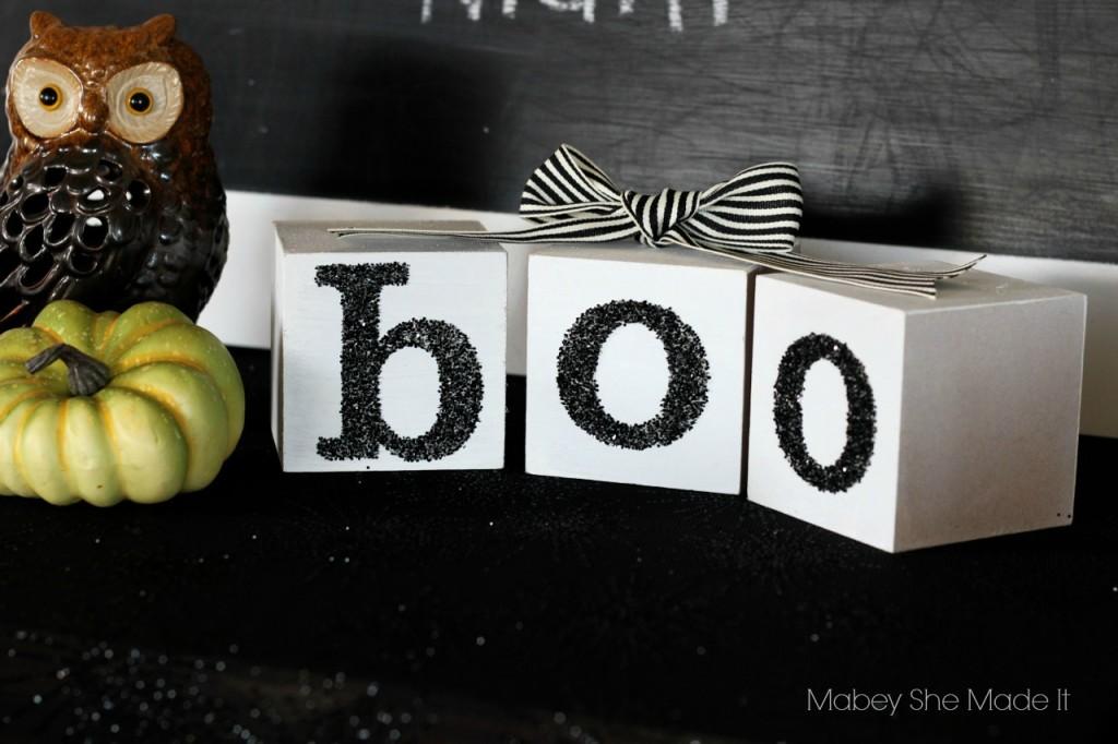 Halloween Boo Blocks