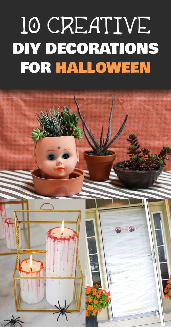 10 Creative DIY Decorations for Halloween