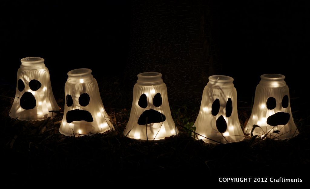 Glass Shade Ghosts