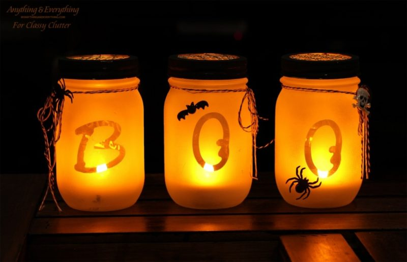 Halloween Boo Luminaries