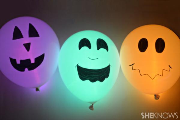 Halloween Glow Stick Balloons