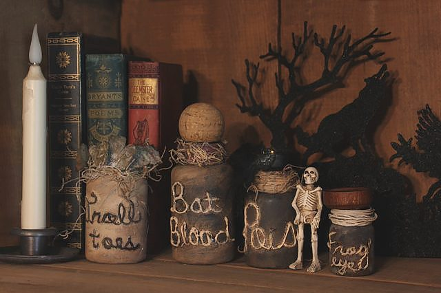Halloween Potion Jars