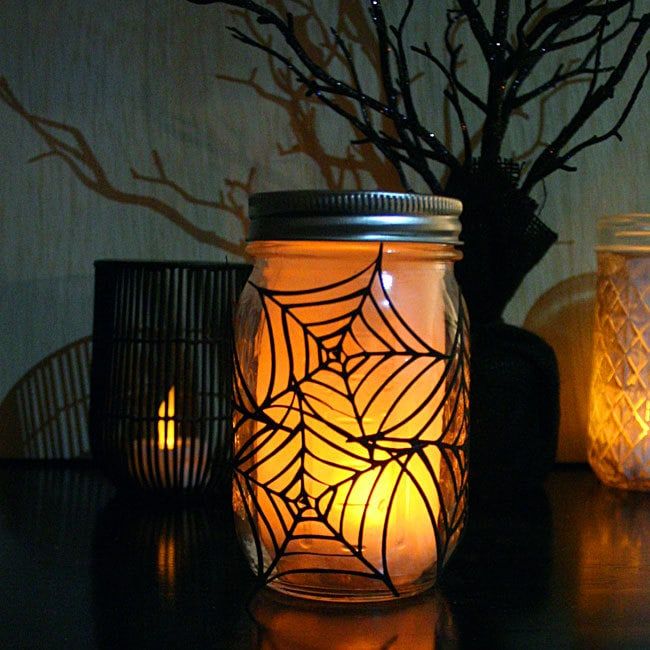 Spiderweb Luminary