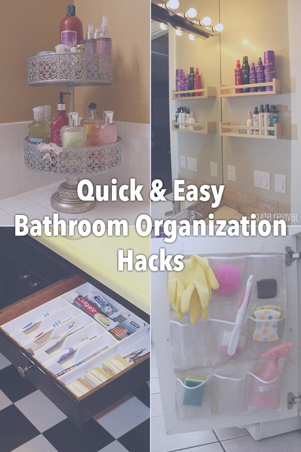 11 Quick And Easy Bathroom Organization Hacks
