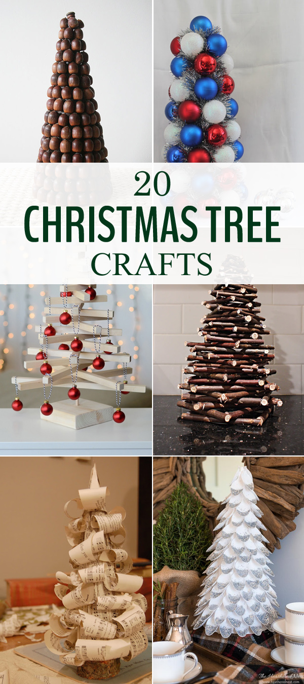 20 Amazing Christmas Tree Crafts to Decorate Your Home