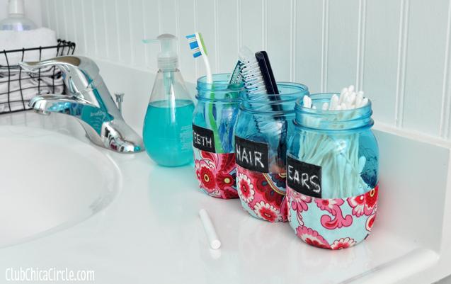 Mason jars make great holders