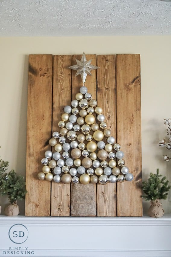 Rustic Holiday Ornament Decor