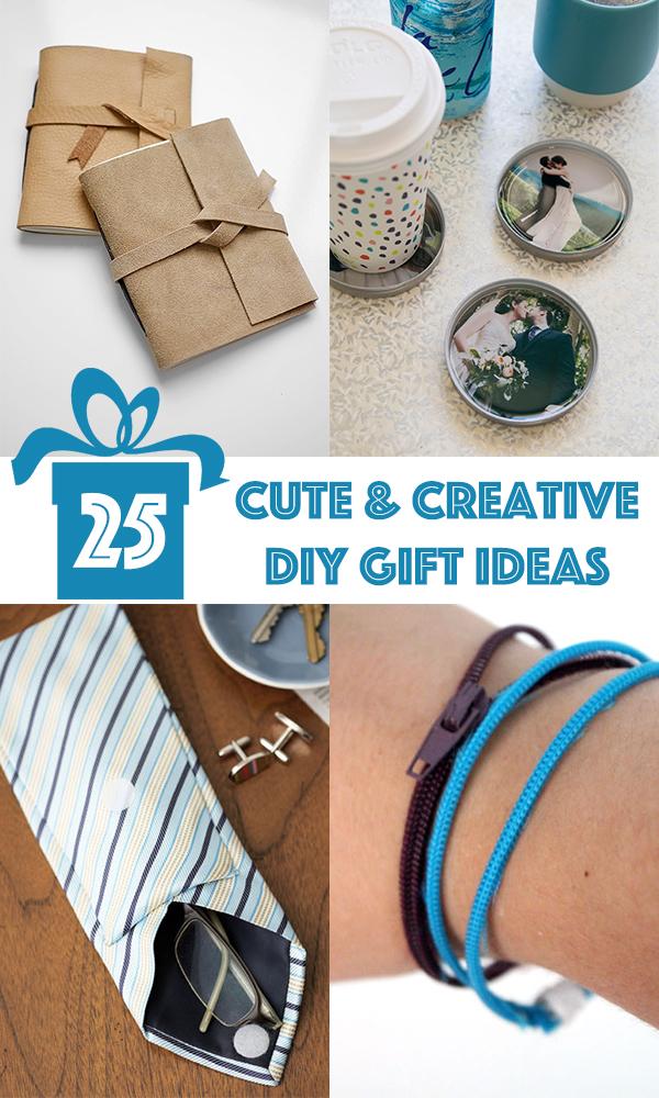 25 Cute And Creative DIY Gift Ideas