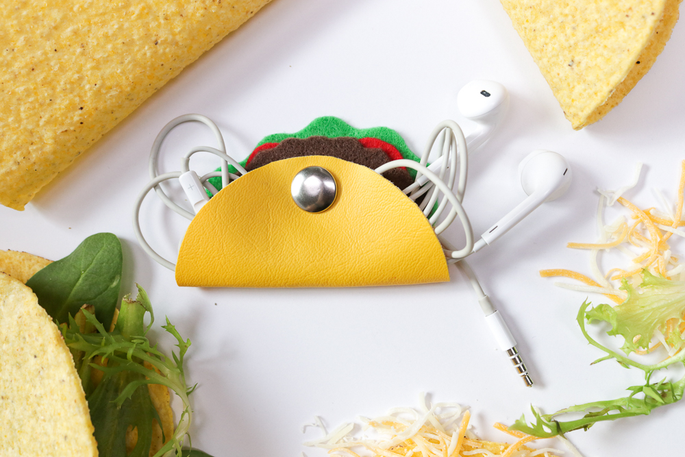 Taco Headphone Organizer