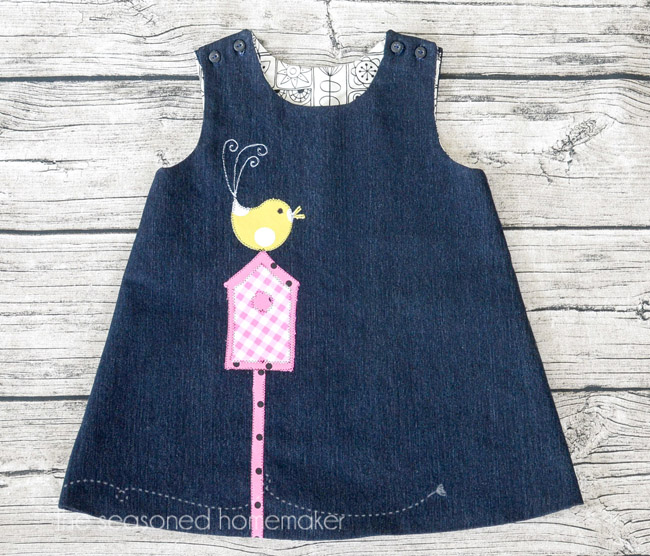 A-Line Dress for Baby Girl