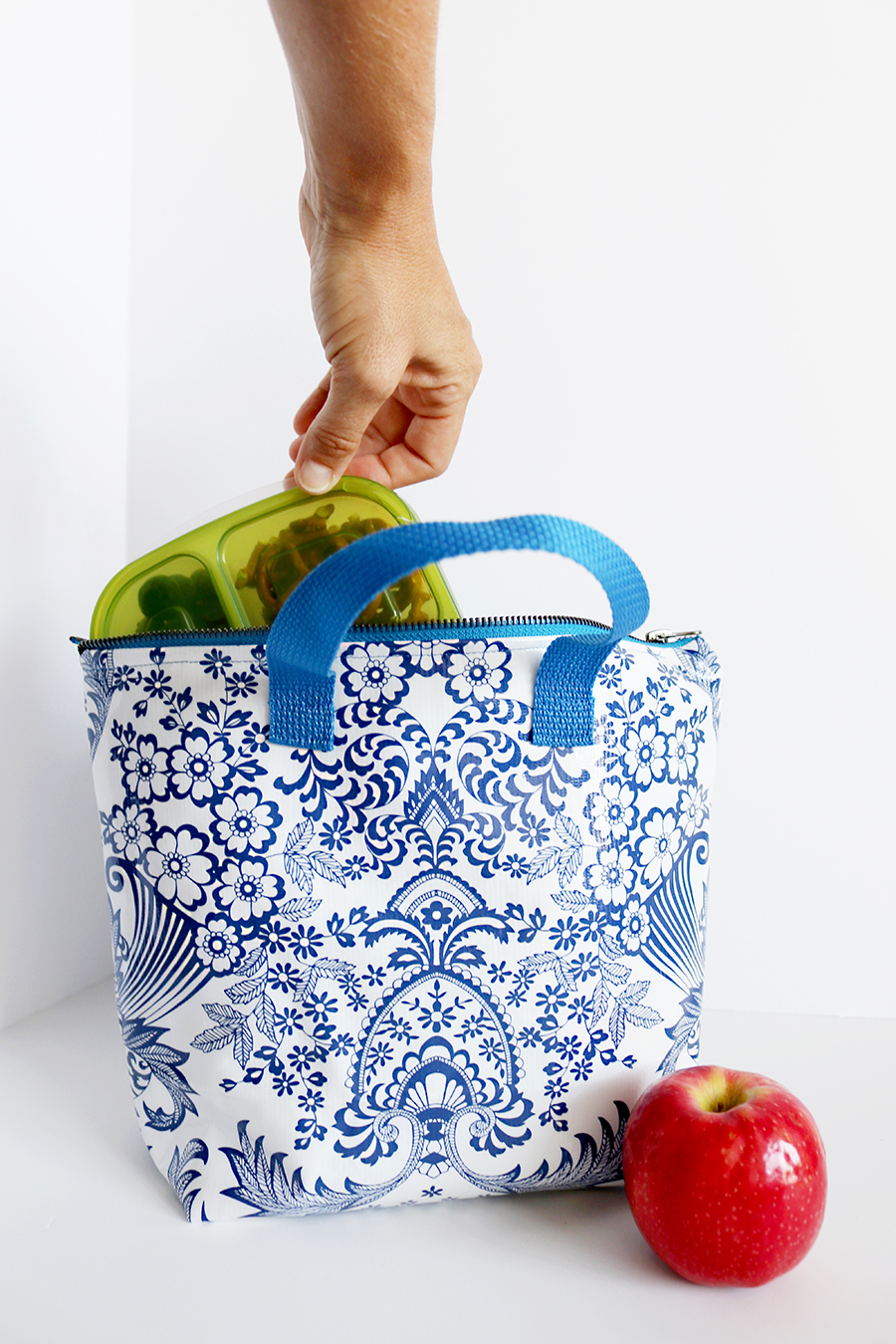 Zip-Top Insulated Lunch Bag