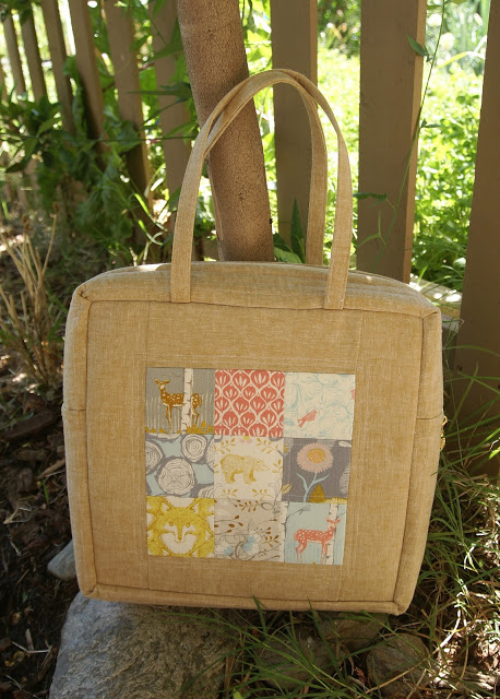 Timber Mosaic Bag