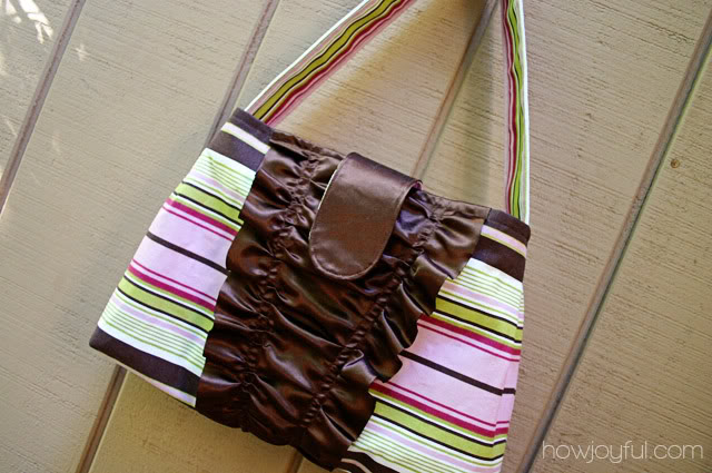 ruffles handbag
