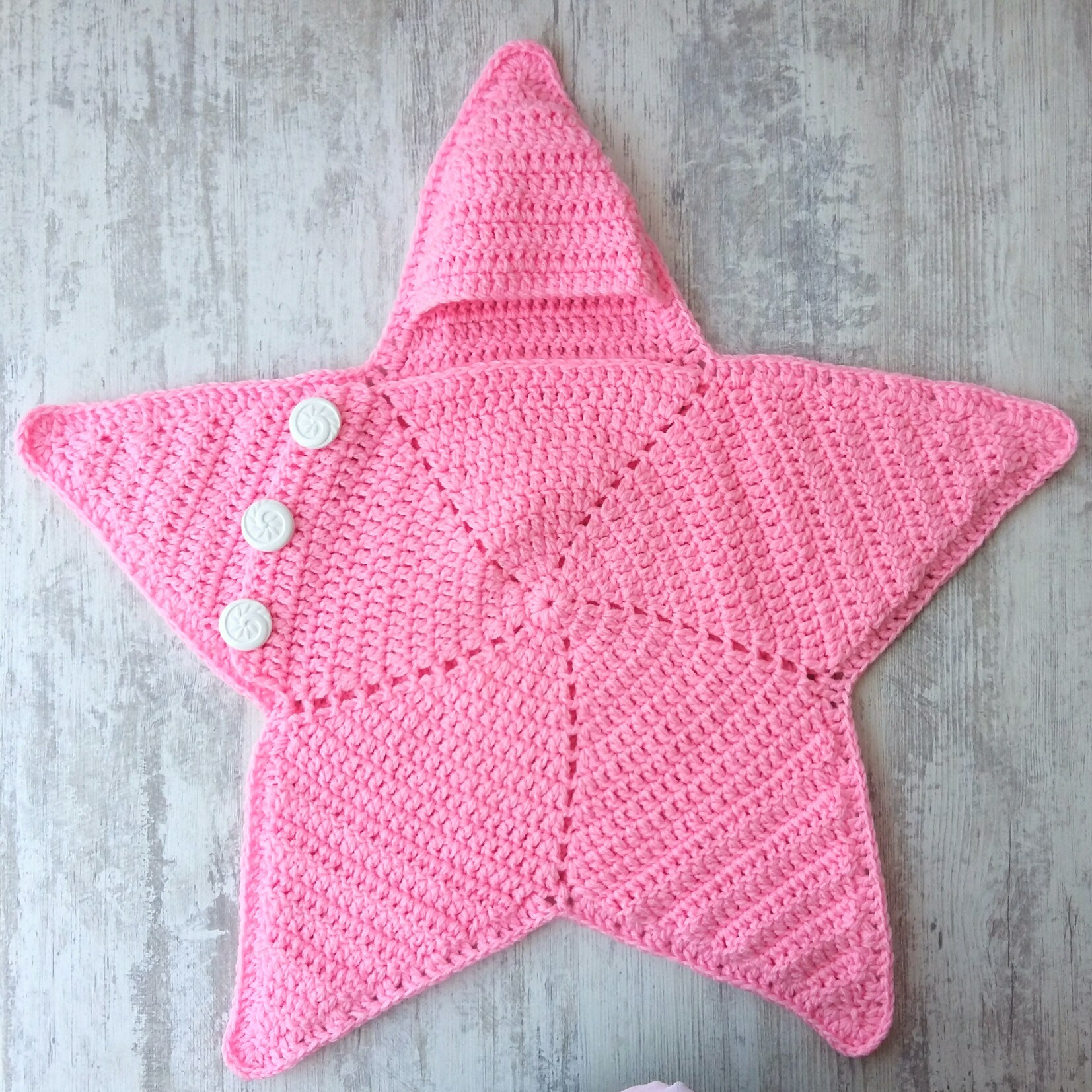 Baby Star Blanket Cocoon