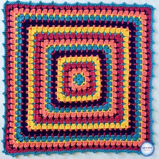 Building Blocks Baby Blanket