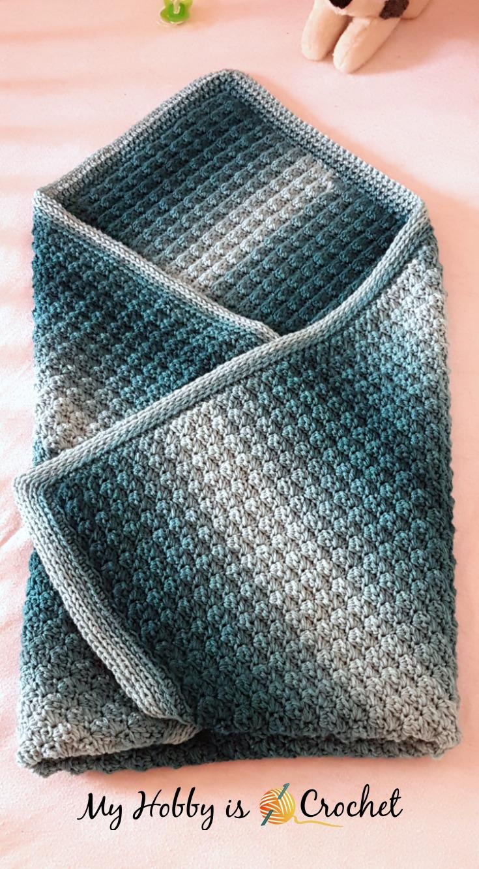 Ombré Baby Blanket
