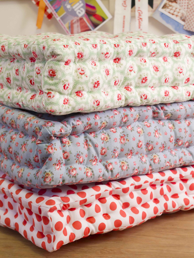 Quilted Floor Pillows