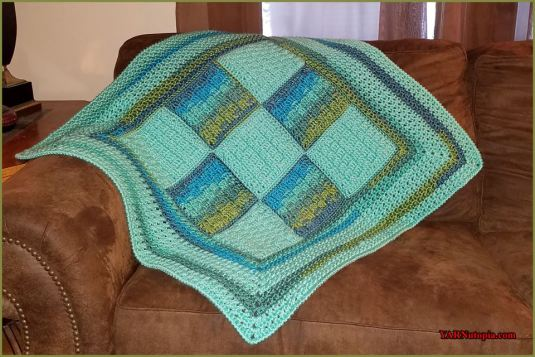 Woven Dreams Crochet Baby Blanket