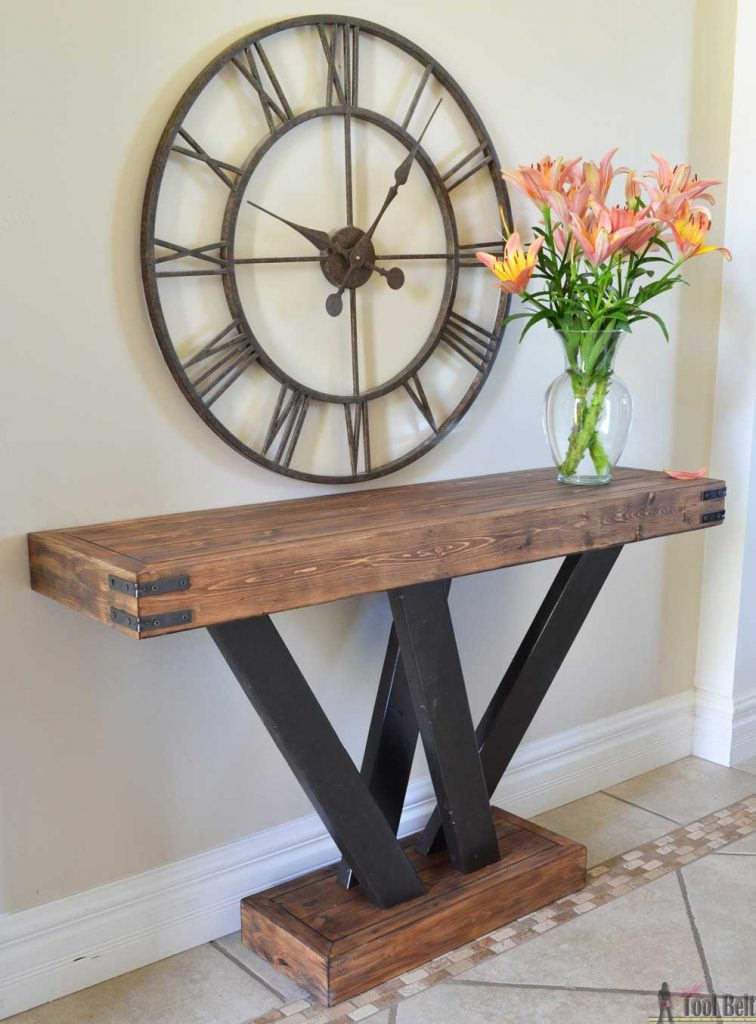 2×4 Console Table