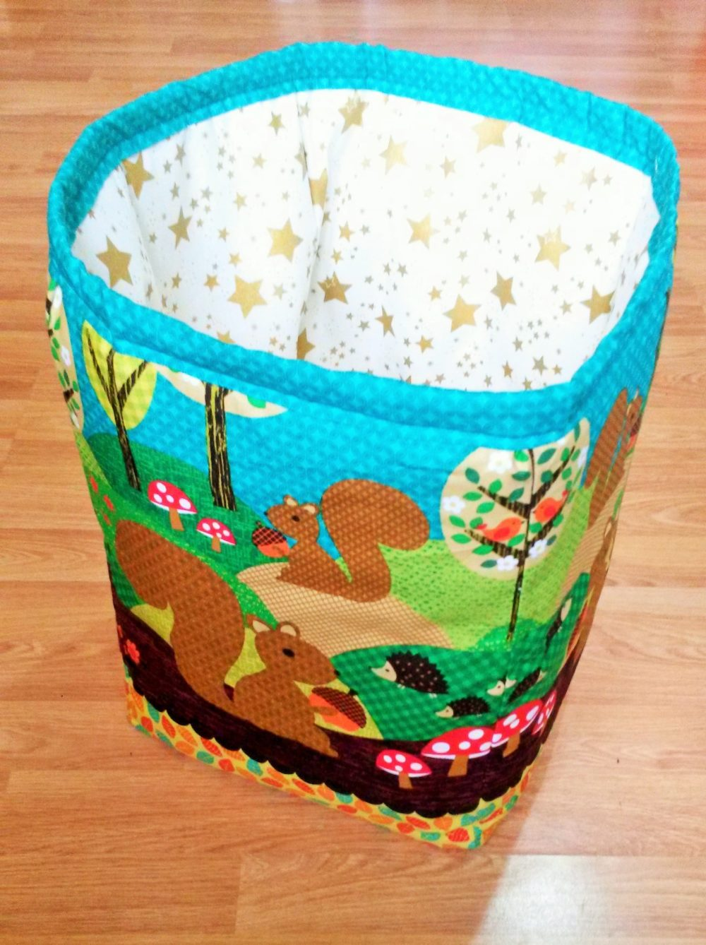 Fabric Washing Basket