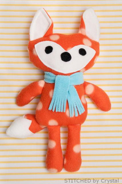 Free Stuffed Fox Pattern