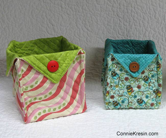 Square Fabric Baskets