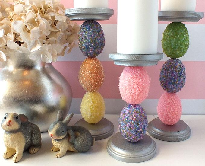 Easter Egg Candle Holder