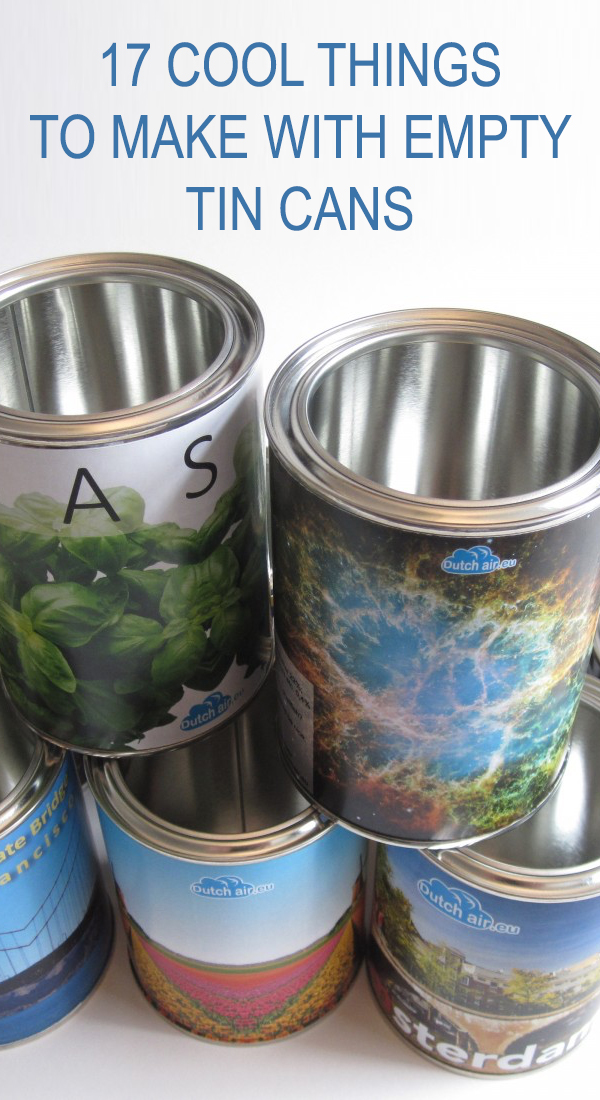 17 Cool Things to Make With Empty Tin Cans