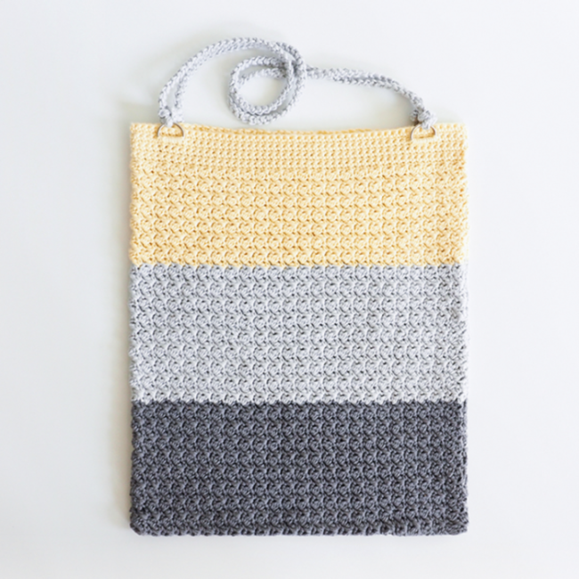Color Block Bag Crochet Pattern