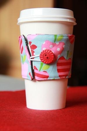 Reversible Coffee Cup Sleeves