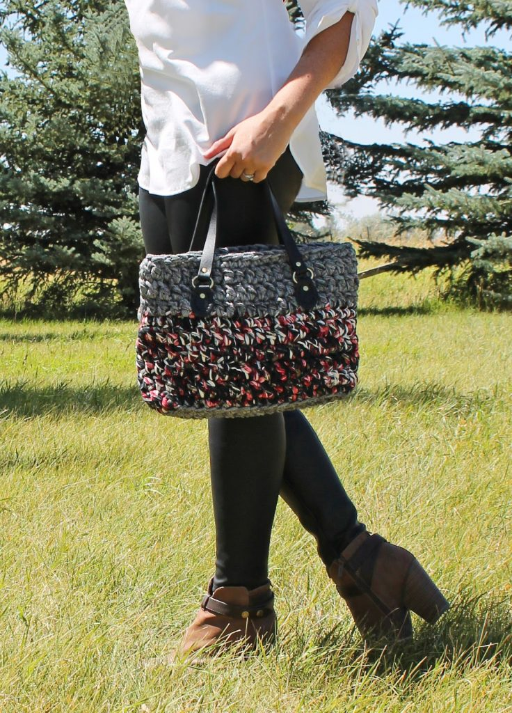 T-Shirt Yarn Crochet Bag